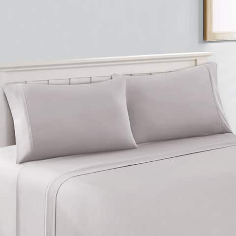 Amrapur Overseas 800 Thread Count Cotton Rich 4-Piece NANO-TEX Cool Comfort Bed Sheet Set