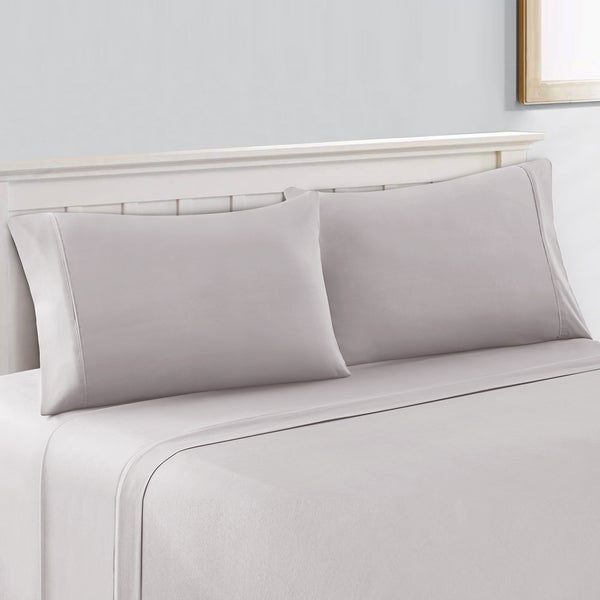 Superbe Amrapur Overseas 800 Thread Count Cotton Rich 4 Piece NANO TEX Cool Comfort  Sheet