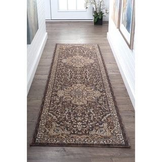 Tayse Rugs Fairfax Multicolored Traditional Runner (2'3 x 11')