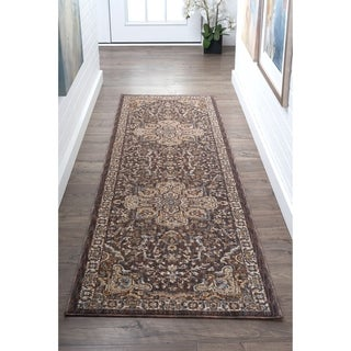 Alise Rugs Fairfax Traditional Oriental Runner Rug