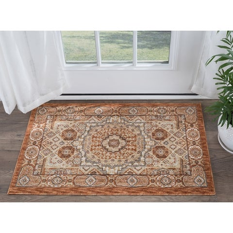 Alise Rugs Fairfax Traditional Oriental Scatter Mat Rug