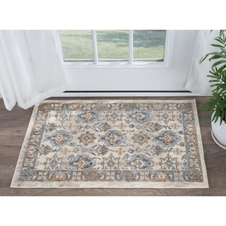 Tayse Rugs Fairfax Traditional Ivory Scatter Rug (2' x 3')