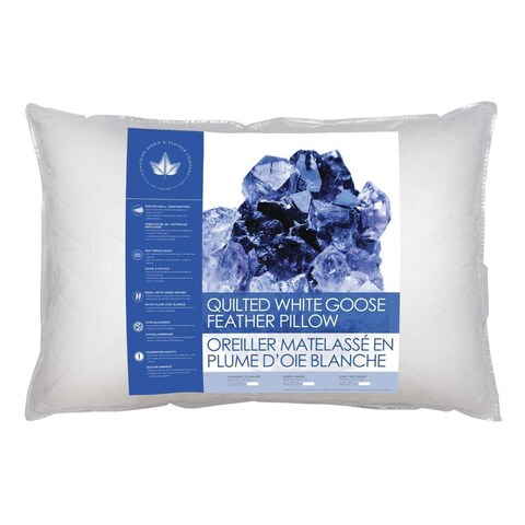 Canadian Down & Feather Company Quilted Goose Feather Pillow