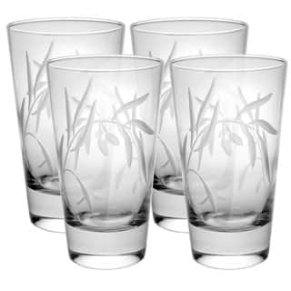 Olive Clear 15-ounce Cooler Glass (Pack of 4) https://ak1.ostkcdn.com/images/products/16340943/P22701666.jpg?impolicy=medium