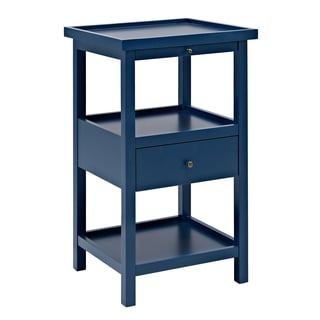 Powell Palmer Blue Table with Shelf