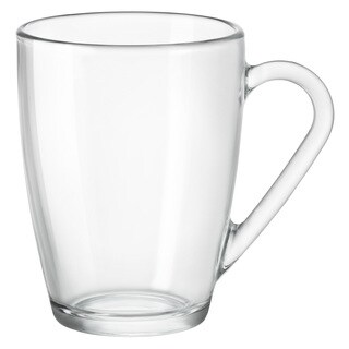 Bormioli Rocco Icon Clear Glass Mug (Set of 6)