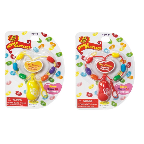 Jelly Belly Necklaces Cherry and Banana 2 Pack