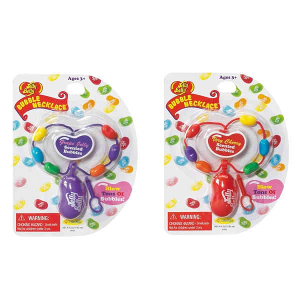 Jelly Belly Necklaces Grape and Cherry 2 Pack