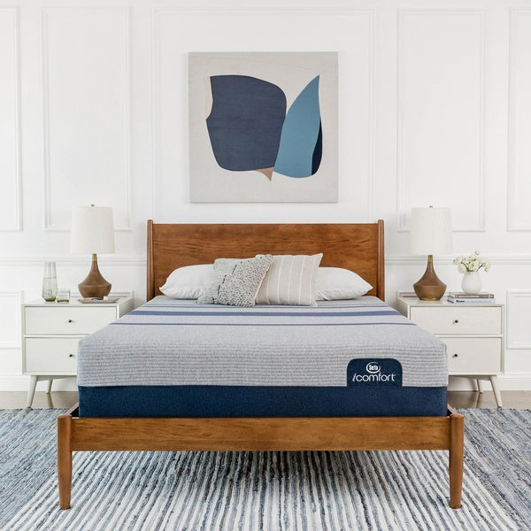 Serta iComfort Blue Max 1000 13-inch Cushion Firm Full-size Gel Memory Foam Mattress Set