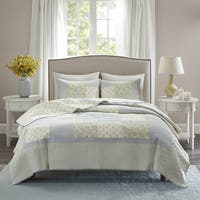 Madison Park Cosette 3-Piece Cotton Coverlet Set