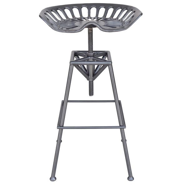 Tractor Seat Adjustable Stool : Shop tractor seat adjustable height stool free shipping