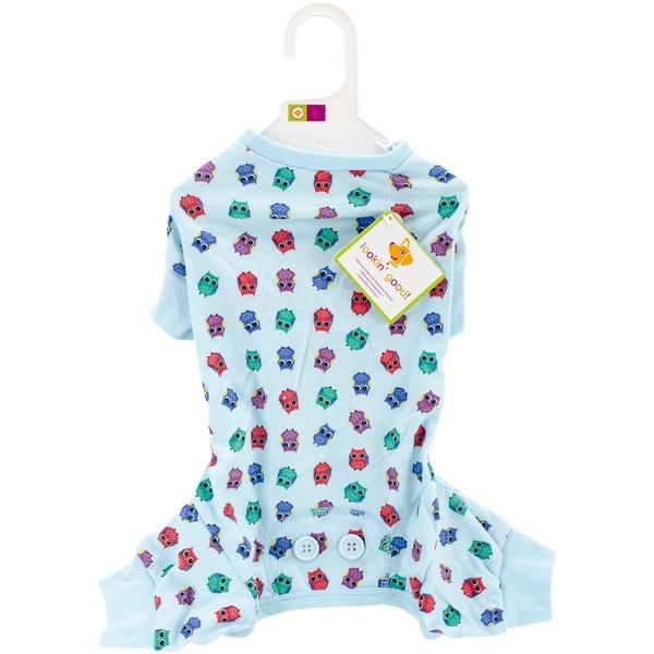 Owl Print Dog Pajamas