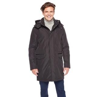 Cole Hann Men's 32-inch 3 in 1 Rain Jacket