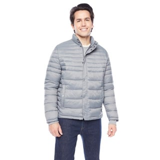 Kenneth Cole Men's Snap Front with Side Slit Pockets Puffer Jacket (More options available)
