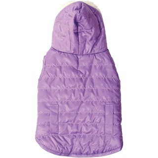 Dog Reversible Hooded Coat