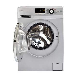"""Haier HLC1700AXS 24"""" Front Load Washer/Dryer Combo"""