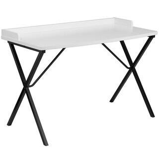 Deja White Computer Desk
