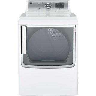 "GE GTD86ESSJWS 28"" Energy Star Certified Front Load Electric Dryer"