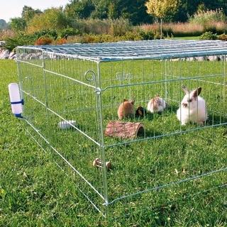 TRIXIE Natura Outdoor Rabbit Covered Run