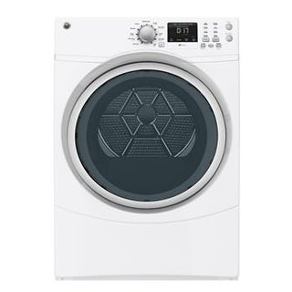 "GE GFDN160EJWW 27"" Front Load Electric Dryer"
