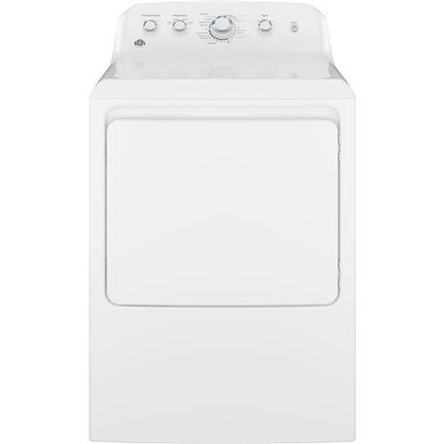 "GE GTD42EASJWW 27"" Front Load Electric Dryer (Option), Wh..."
