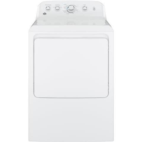 "GE GTD42EASJWW 27"" Front Load Electric Dryer"