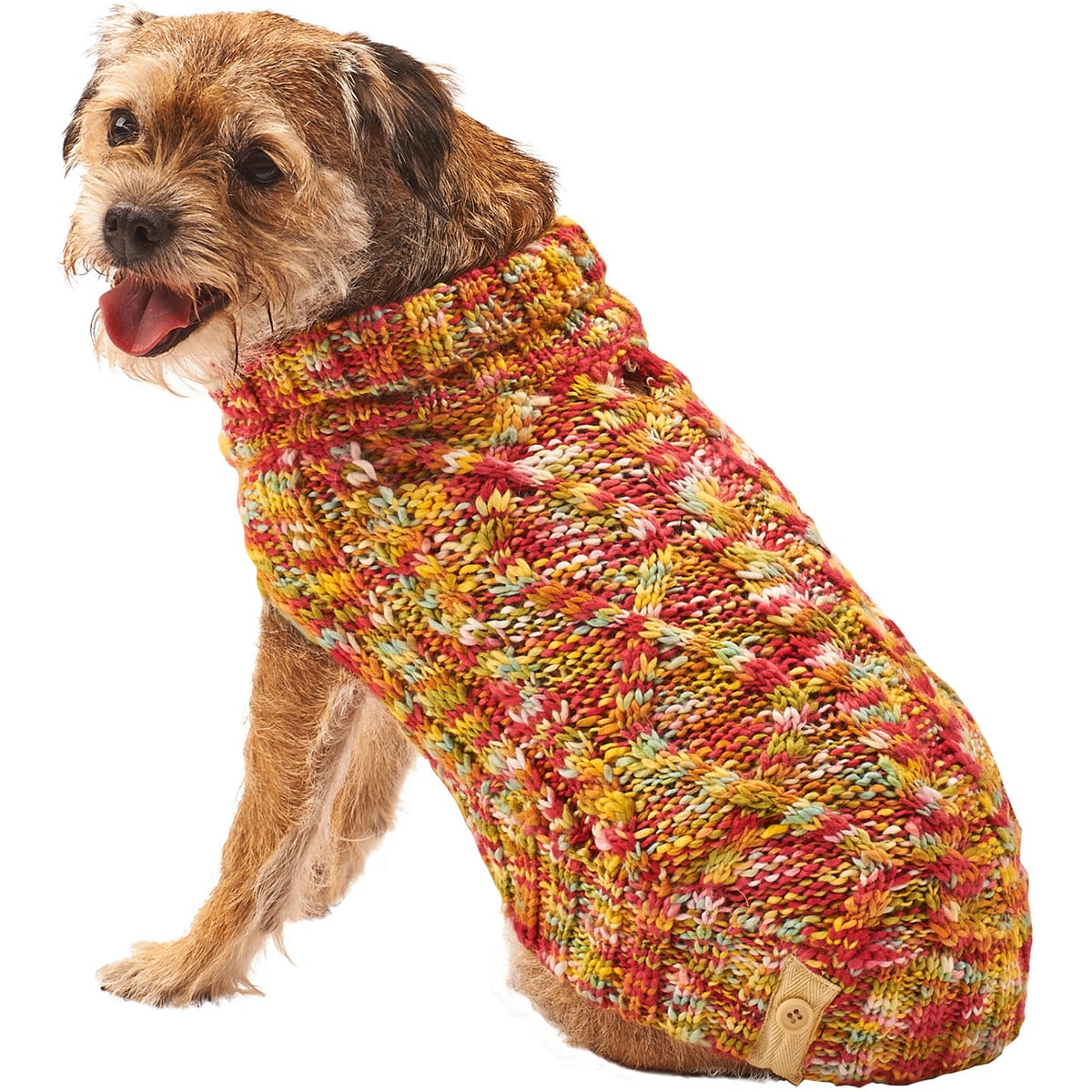 Ethical Pets Dog Multi-Crochet Sweater (Black Small), Size S