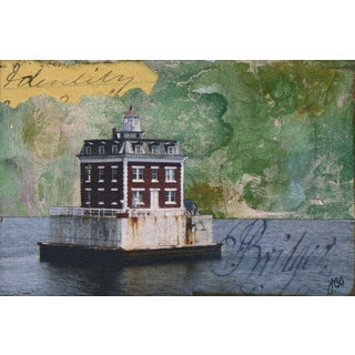'Lighthouse III' Painting Print on Wrapped Canvas