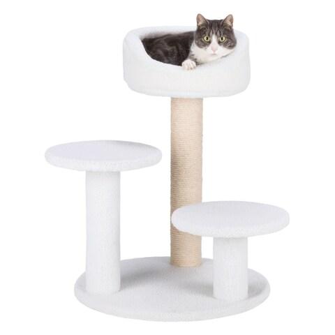 Orla Plush Cream Cat Tree