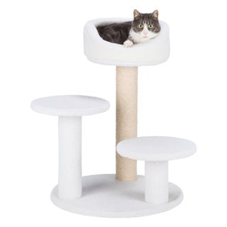 Orla Plush Cream Cat Tree