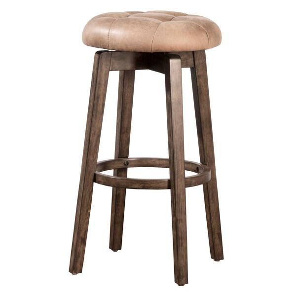 Shop Hillsdale Furniture Odette Rustic Grey Backless