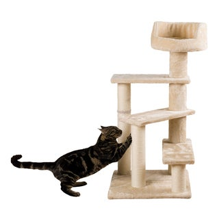 Tulia Beige Cat Scratching Tree