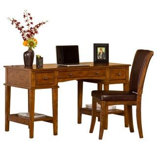 Hillsdale Furniture Gresham Medium Oak Wood Desk