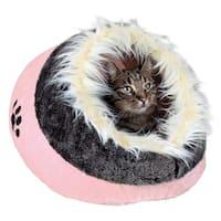 Minou Pink Cuddly Pet Cave Bed