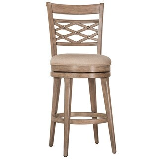 hillsdale bar stools. Hillsdale Furniture Chesney Weathered Grey Wood Fabric Swivel Bar Stool Stools