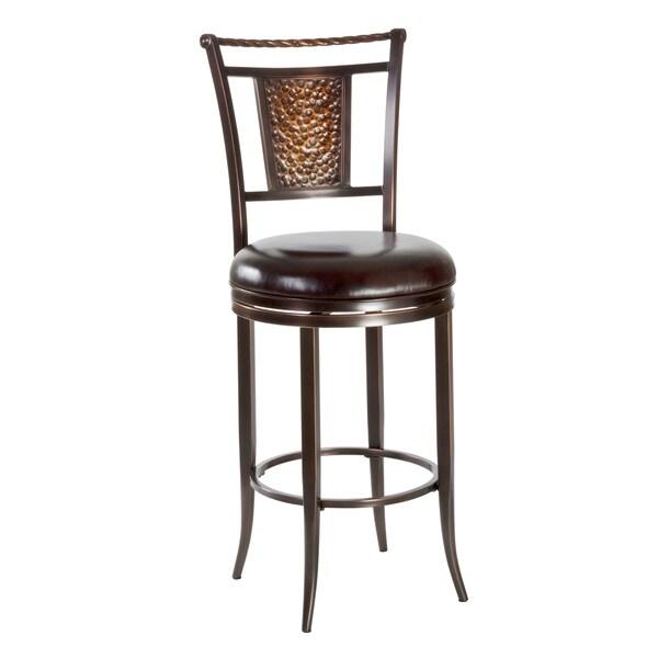 Shop Hillsdale Furniture Parkside Copper Metal Swivel