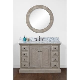 Rustic Bathroom Vanities Amp Vanity Cabinets For Less