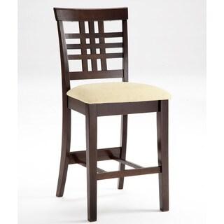 Hillsdale Furniture Tiburon Espresso Wood Non-swivel Counter Stool (Set of 2)