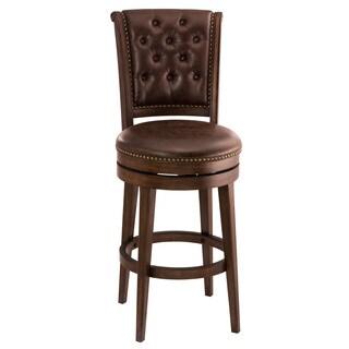 Hillsdale Furniture Brown Cherry-finish Chiswick Bar Stool