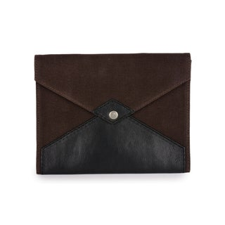 Phive Rivers Men's Canvas Ipad Sleeve (Brown)