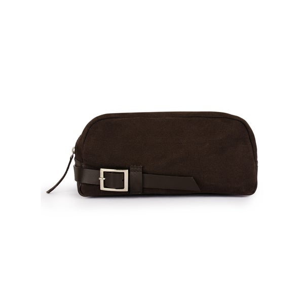 aa0d02632e5 Shop Handmade Phive Rivers Men s Canvas Travel Kit (Brown) (Italy ...