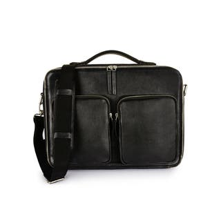 Phive Rivers Men's Leather Messenger Bag (Black)|https://ak1.ostkcdn.com/images/products/16342057/P22702692.jpg?impolicy=medium