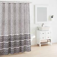 Azalea Skye Greca Borders Shower Curtain