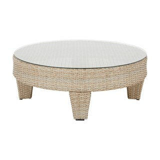 Madison Park Bayard Light Brown Outdoor Coffee Table