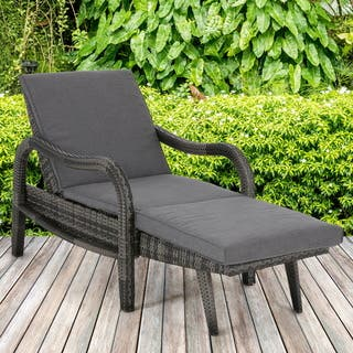 Madison Park Camden Dark Grey Outdoor Lounge Convertible to Chaise|https://ak1.ostkcdn.com/images/products/16342171/P22702785.jpg?impolicy=medium