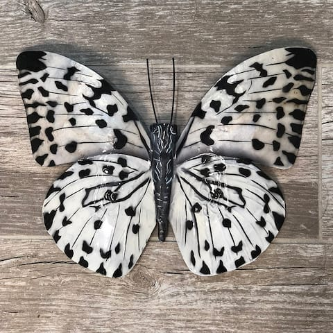 Handmade Black and White Butterfly (Philippines)