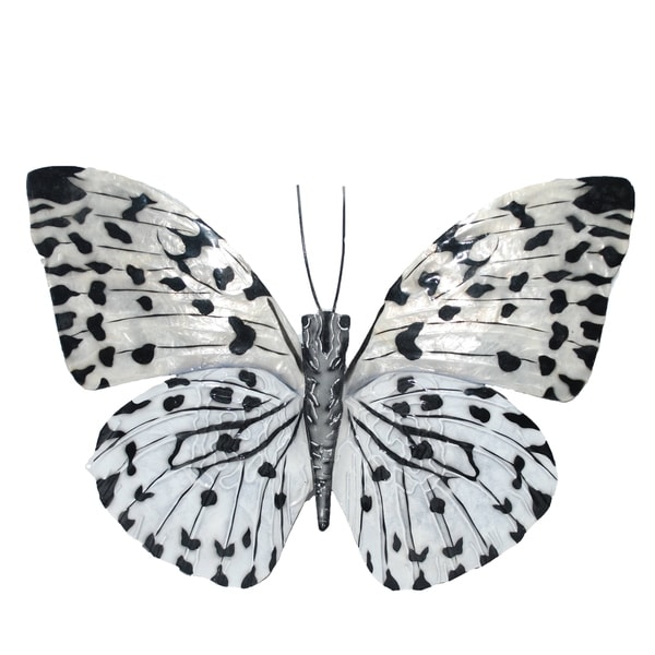 Black And White Butterfly Wall Decor - Free Shipping On Orders ...