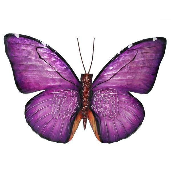 Purple Butterfly Wall