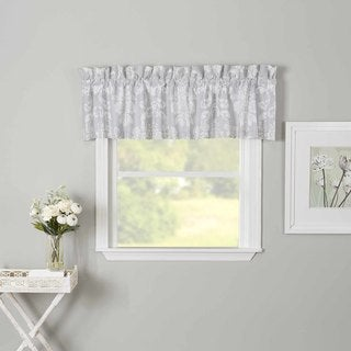 Laura Ashley Venetia Grey Valance