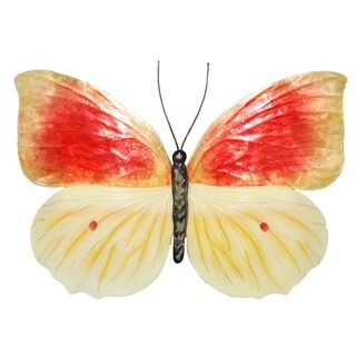Orange And Yellow Butterfly Wall Decor